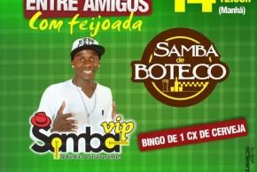 Está chegando a hora! Neste domingo tem 'Pagodão Entre Amigos' com Samba Vip e Samba de Boteco em Pindaré