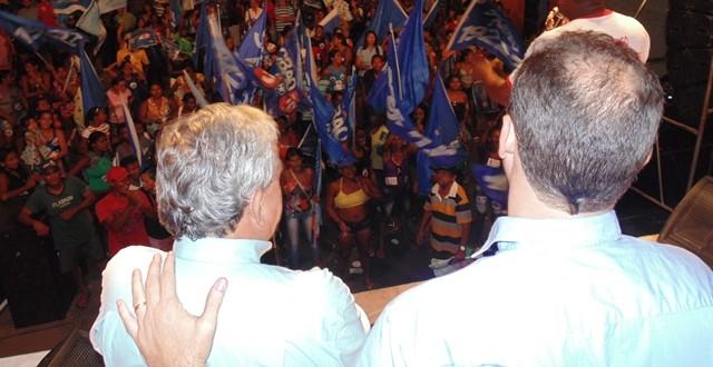 Ao lado de Ricardo Murad, Pedro Fernandes e Marcus Salgado, Sousa Neto inaugura comitê em Pindaré – Mirim
