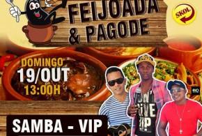 Hoje tem! Feijoada e Pagode com Samba Vip no Bar Cafuçú em Pindaré – Mirim