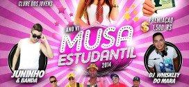 Está chegando a hora!!! Neste sábado tem a Musa Estudantil 2014 em Pindaré – Mirim