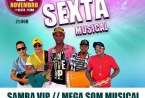 É hoje! Samba Vip no Bar Cafuçú em Pindaré – Mirim