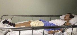 Fotos de Andressa Urach internada após retirar hidrogel das pernas são divulgadas
