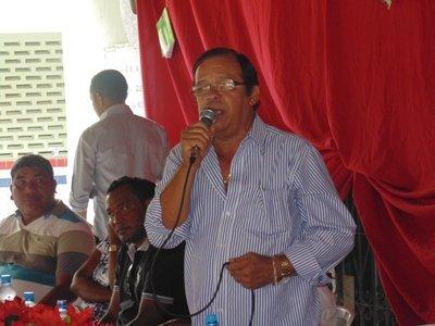 Walber Pereira Furtado, prefeito municipal. Foto: William Junior/Portal Pindaré