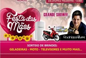 Dia 09 de maio na Atlética Tiradentes tem a Festa das Mães 2015