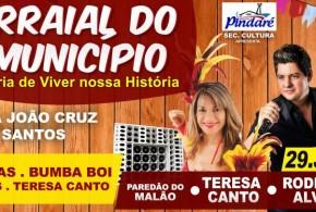 Confirmado! Arraial do município de Pindaré Mirim inicia nesta quarta; veja as atrações