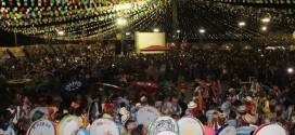 Em Santa Inês, arraial do município registra recorde de público
