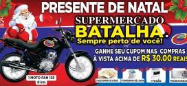 Publicidade – Continua a promoção 'Presente de Natal' do Supermercado Batalha