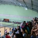 Torcida vem comparecendo em massa nas partidas dos Jogos Escolares de Pindaré Mirim. Fotos: William Junior/Portal Pindaré