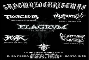 Dia 19 de dezembro acontece o 'Sadomazochristmas' em Santa Inês