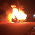 onibus incendiado