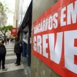 bancarios em greve