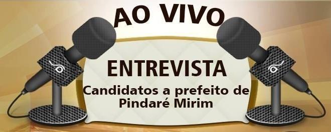 Candidatos a prefeito de Pindaré Mirim participam de entrevista nesta quinta-feira na Rádio Dehon