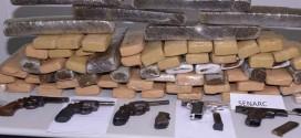 Cerca de 14 toneladas de drogas foram apreendidas no Maranhão nos últimos 2 anos