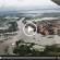 Imagens aéreas mostram a cheia do Rio Pindaré
