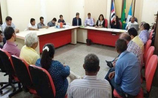 COMEFC realiza reunião com prefeitos em Santa Inês
