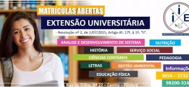 Matrículas abertas para cursos de graduação em Pindaré Mirim