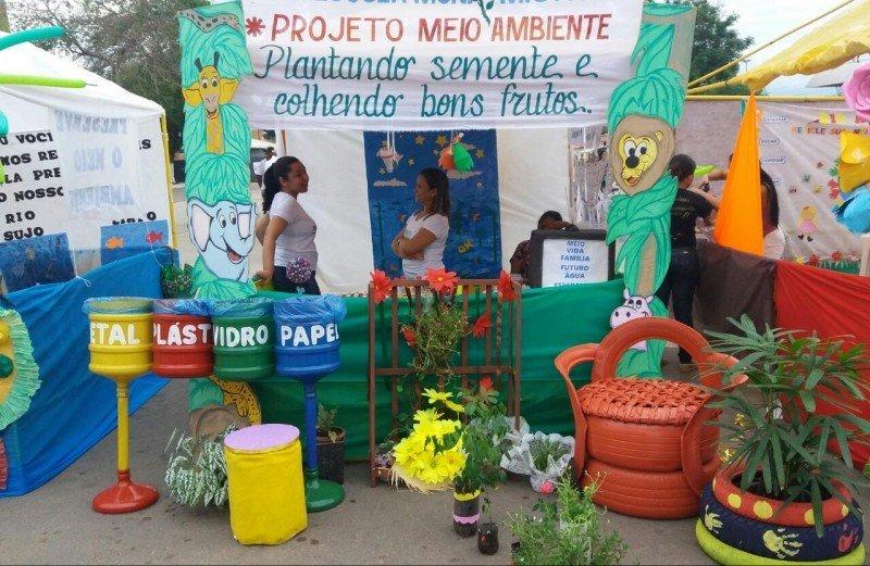 Projeto Meio Ambiente - Semed estande