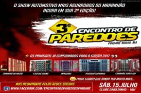 Vem aí o 3º Encontro de Paredões em Pindaré Mirim