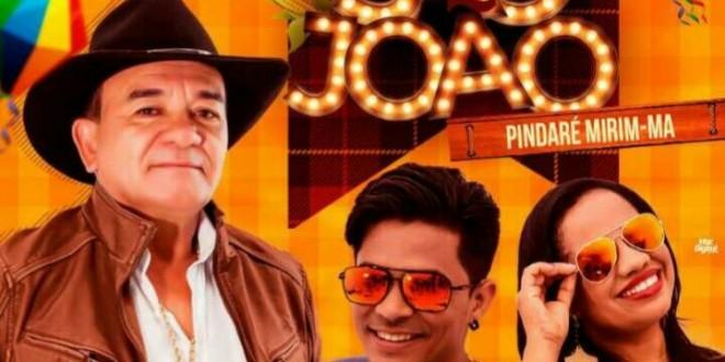 Dia 29 de junho tem o show do Toca do Vale no encerramento do festejo junino de Pindaré Mirim