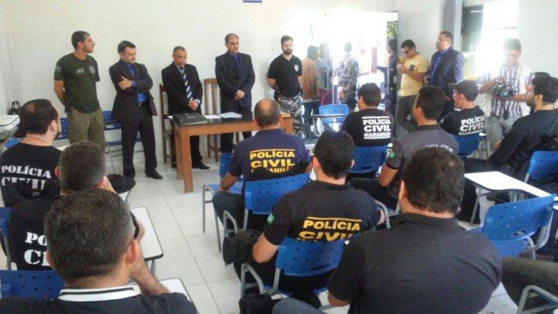 treinamento policiais