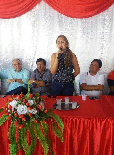 Inauguracao - Escola Reinaldo Cordeiro de Lima - Adriana