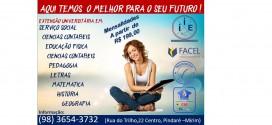 Últimas vagas para os cursos de extensão universitária no Instituto de Educação Internacional em Pindaré Mirim