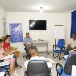 Foto 03 - Secretario de Turismo de Pindare Mirim, Marcos Andrade, falando do projeto durante a reuniao