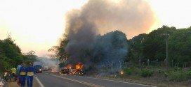 Acidente mata nove pessoas na BR 222, em Açailândia