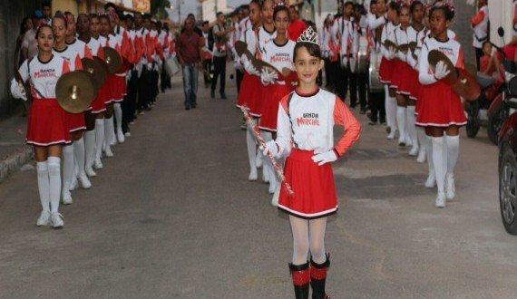 Veja como foi o desfile cívico de 7 de setembro em Pindaré Mirim