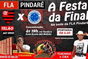 """Fla Pindaré realiza hoje a """"Festa da Final"""" com Caminhão do Malão e Tukinha e C&A"""