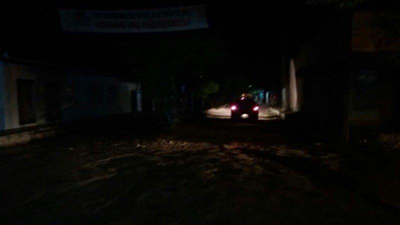 rua escura