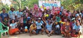 5ª edição da Festa das Crianças do Projeto Vamos Fazer é realizada na zona rural de Monção
