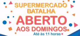 Pindaré – Supermercado Batalha agora abre aos domingos também
