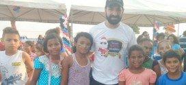 """Polícia Civil realizou """"Operação Natal Solidário"""" com mais de 500 crianças em Santa Inês"""