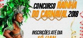Lançado o concurso 'Rainha do Carnaval 2018′ em Pindaré Mirim