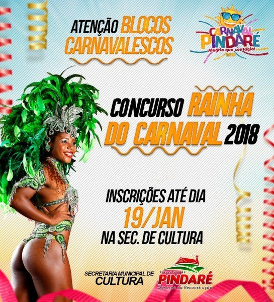 concurso rainha do carnaval