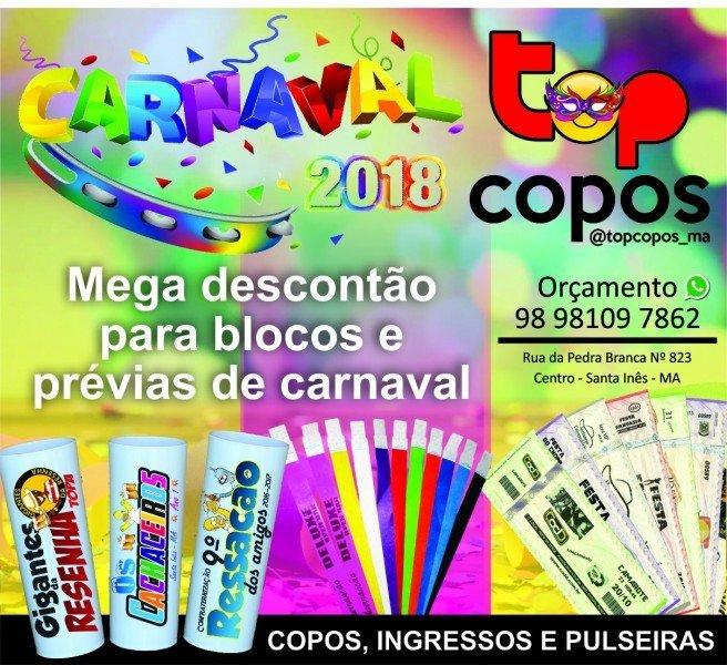 top copos carnaval