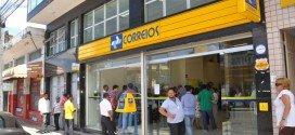 Funcionários dos Correios entram em greve nesta segunda-feira (12)