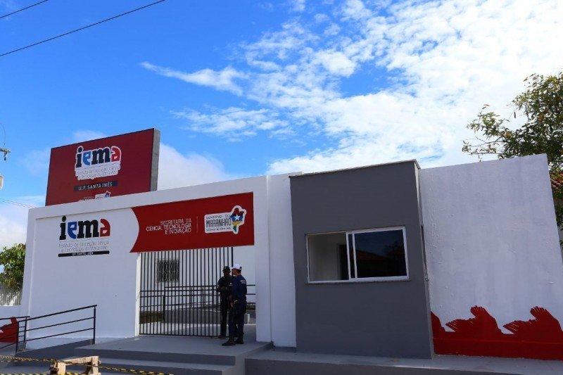 Novo IEMA em Santa Inês. Fotos: Gilson Teixeira/Secap