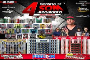 4º Encontro de Som Automotivo acontece dia 12 de maio em Pindaré Mirim