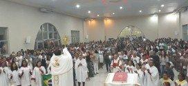 Corpus Christi é celebrado com missa e procissão em Pindaré Mirim