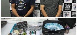 Polícia Civil prende suspeitos de fabricar e comercializar dinheiro falso em Santa Inês