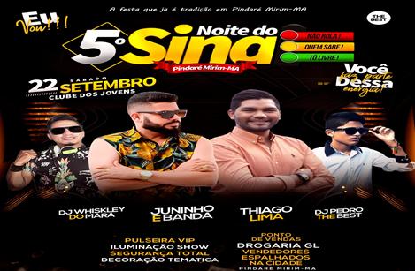 5ª Noite do Sinal: a festa que é tradição acontece neste sábado em Pindaré