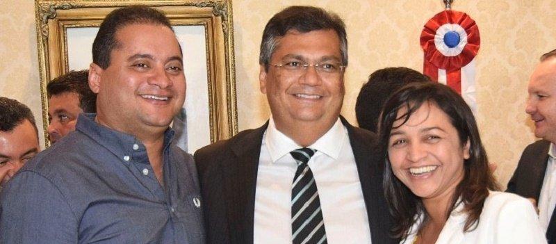 Weverton Rocha Flavio Dino e Eliziane Gama