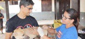 Campanha de vacinação contra raiva atinge mais de 15 mil animais em Santa Inês