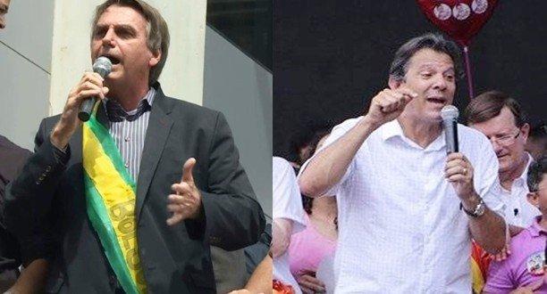 Jair Bolsonaro e Fernando Haddad decidirão eleição para presidente no 2º turno