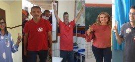 Candidatos ao governo do estado do Maranhão já votaram