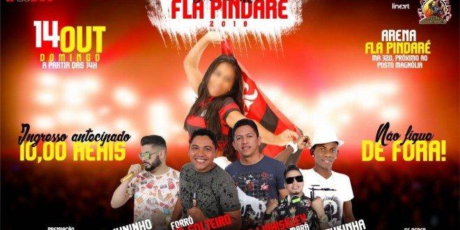 Neste domingo(14) acontece a escolha da Musa Fla Pindaré