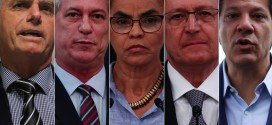 Pesquisa Datafolha para presidente: Bolsonaro, 35%; Haddad, 22%; Ciro, 11%; Alckmin, 8%; Marina, 4%