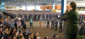 Governo forma 1.105 novos policiais militares para reforçar segurança no estado